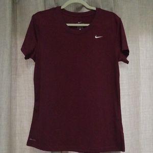 Nike Dri-Fit Short Sleeve Top, Large